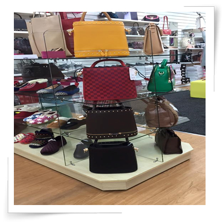 Quality item`s including bags, accessories and footwear.