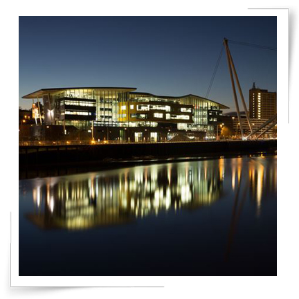 Our stunning riverfront campus in Newport